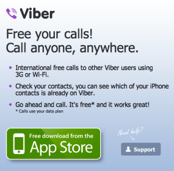 Using VoIP with Viber & co? Better read the privacy policy